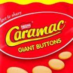 Giant caramac buttons