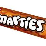 Orange Smarties Tube