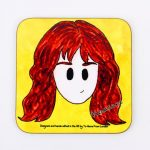Magnetic Coaster – Hermione