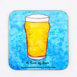 Magnetic Coaster – Pint of Beer