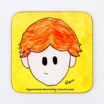 Magnetic Coaster – Ron Weasley
