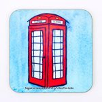 Magnetic Coaster – Telephone Box