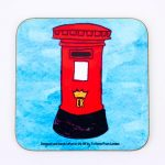 Magntic Coaster – Post Box
