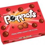 Toffee poppets 154g