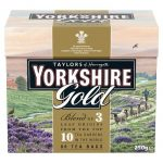 YATLORS YORKSHIRE GOLD TEABAGS 80s