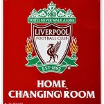 Liverpool – Changing room sign