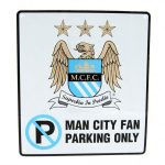 Man City – Fan Only Parking Sign