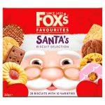 Fox's santa biscuits