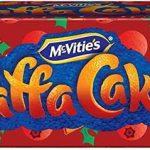 Jaffa cakes orange and cranberry
